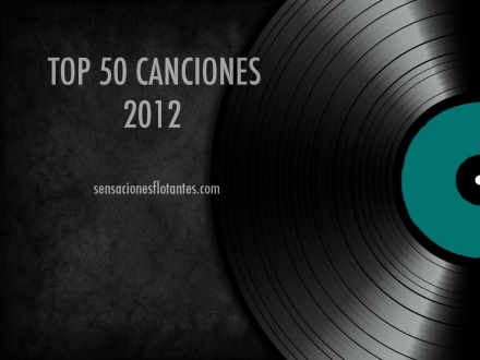 Top 50 canciones 2012